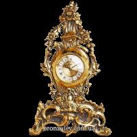 Часы «Венок из цветов»