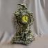 Часы из бронзы каминные с орлом  — «Ампир»