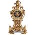 Настольные часы из бронзы — «Лев»