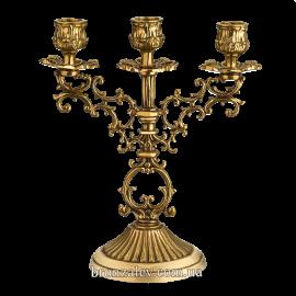 Подсвечник «Буржуа» 3 свечи