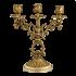 Подсвечник бронзовый для 3 свечей - «Буржуа»