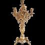 Канделябр бронзовый на 6 свечей «Рококо»