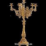 Напольный бронзовый канделябр на 6 свечей «Дворцовый»