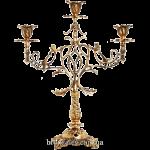 Подсвечник бронзовый на 3 свечи «Европа»