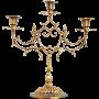 Бронзовый подсвечник на 3 свечи «Гармония»