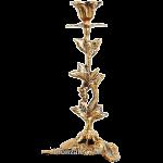 Подсвечник бронзовый на 1 свечу «Лоза»
