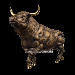 Статуэтка из бронзы «Бык»