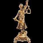 Статуэтка из бронзы «Фемида» 23 см