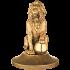 Бронзовая статуэтка - «Лев»