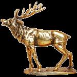 Статуэтка из бронзы «Олень»