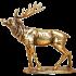 Бронзовая статуэтка «Олень»