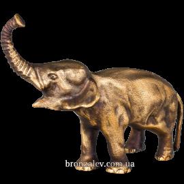 Статуэтка из бронзы «Слон»