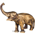 Статуэтка «Слон» из бронзы