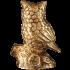 Бронзовая статуэтка «Сова»