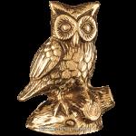 Статуэтка из бронзы «Сова»