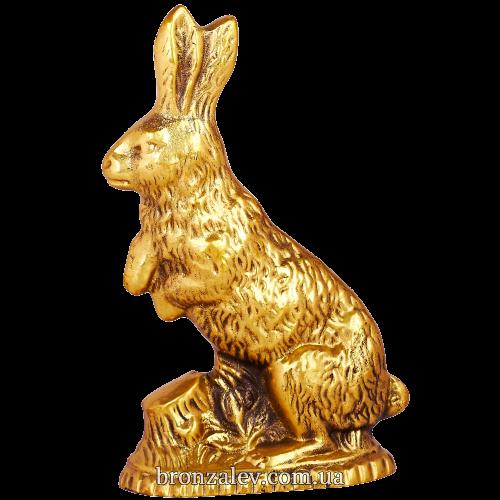 Бронзовая статуэтка «Заяц»