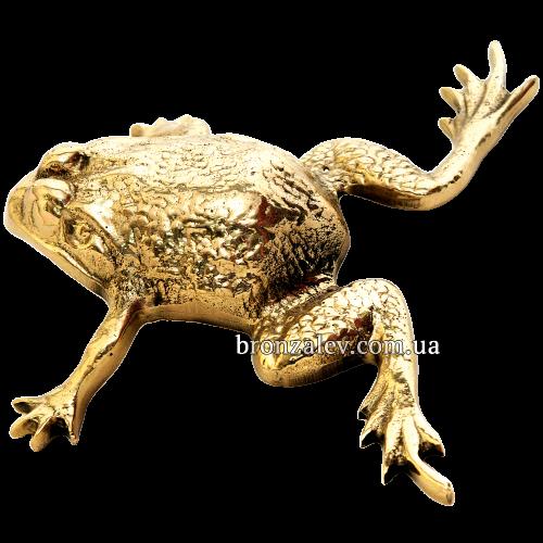 Бронзовая статуэтка - «Жаба»