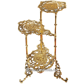 Подставка из бронзы для цветов «Барокко»