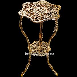 Столик из бронзы «Ажурный»