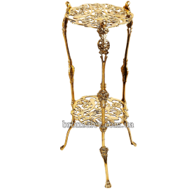 Столик бронзовый «Цветочный»