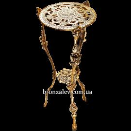 Столик из бронзы «Круглый»