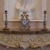 Бронзовый подсвечник для 1 свечи «Ампир»