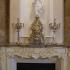 Бронзовый комплект - каминные часы с 2 канделябрами на 5 свечей