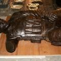 Скульптура солдата из воска