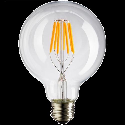 Лампа Эдисона G80 LED 6W 1777