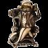 Статуэтка из бронзы — «Акула бизнеса»