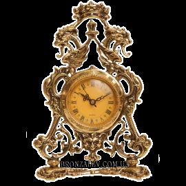 Часы из бронзы «Корона»